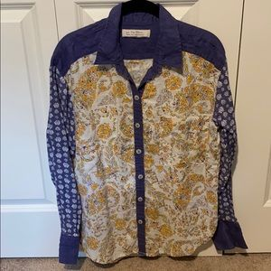 FP We The Free Moroccan Midnight Button Down